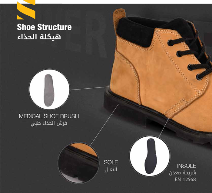 shoes specifications